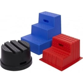 1 to 3 Tread Static Plastic Step Up