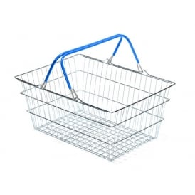 19lt Wire Shopping Basket Pk 10