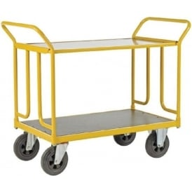 2-in-1 Shelf Platform Truck Cap: 400kg