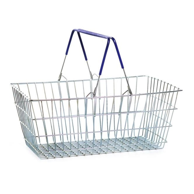21lt Wire Shopping Baskets Pk. 10