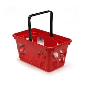 24lt Plastic Shopping Baskets Pk 5 or 10