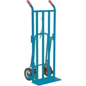 3-in-1 Convertible Sack Truck Cap: 250kg