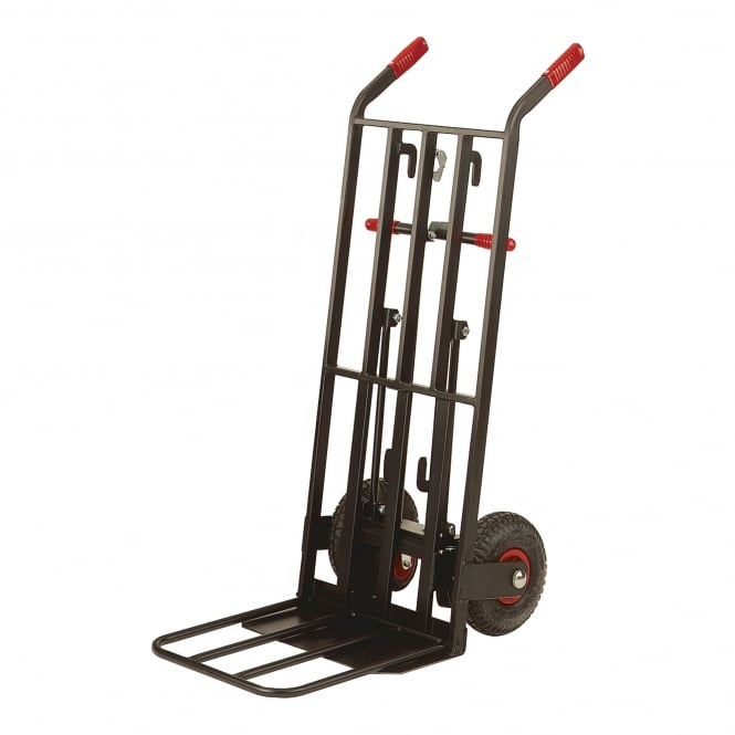 3-in-1 Convertible Sack Truck with dual foot-iron Cap: 400kg