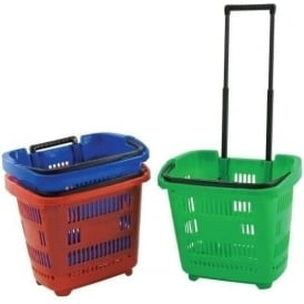 34lt Trolley Baskets (Pk. of 5)