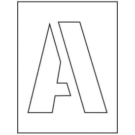 A-Z 0-9 Stencil Pack: 50mm