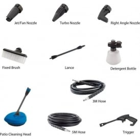 Accessories for 1700W/1900W/2200W Pressure Washers
