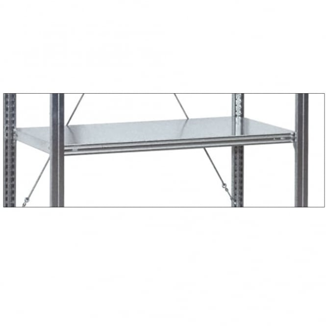 Additional Shelf for Galvanised Shelving for Euro Containers