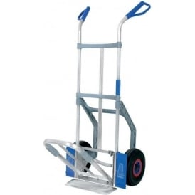 All-Rounder Aluminium Sack Truck with dual foot-iron Cap: 150kg/300kg
