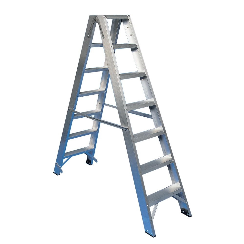 Aluminium Double Sided Steps Parrs Workplace Equipment