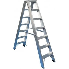 Aluminium Double Sided Step Ladder