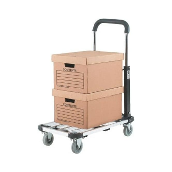 Aluminium Folding Platform Trolley with extendable platform Cap: 150kg