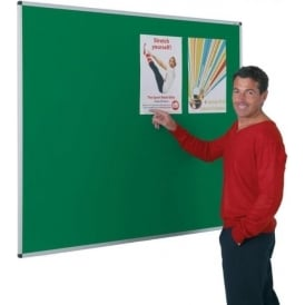 Aluminium Framed Felt or Cork Notice Boards