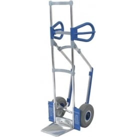Aluminium Sack Truck with Dog Ear Handles Cap: 300kg