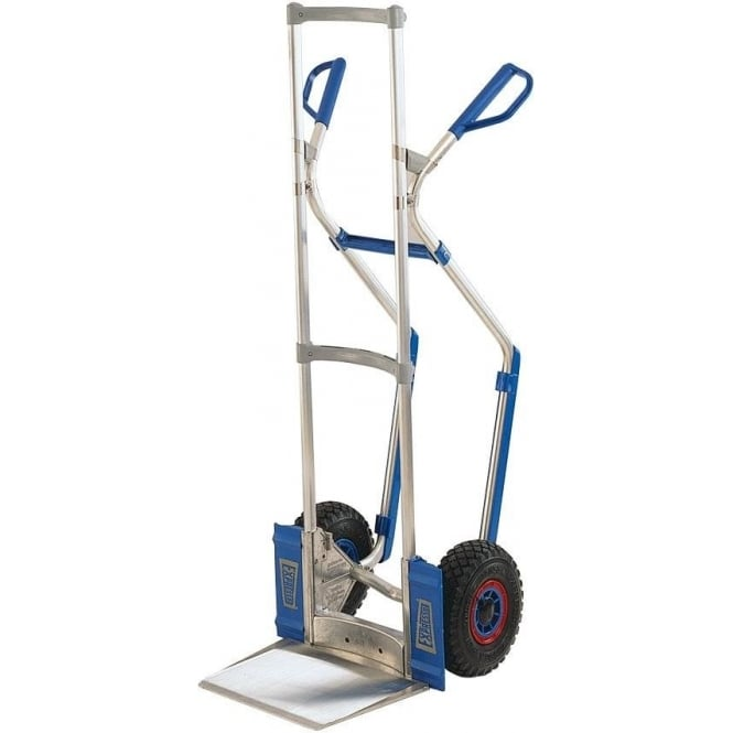 Aluminium Sack Trucks with Pneumatic Tyres Cap: 300kg