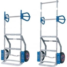Aluminium White Goods Appliance Sack Truck with or without high back Cap: 300kg