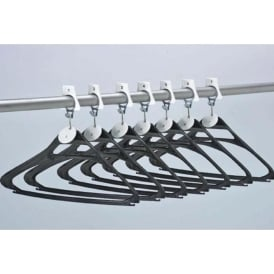Anti-theft Cloakroom Coat Hanger System