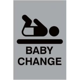 Architectural Baby Change Sign
