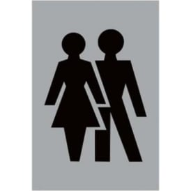 Architectural Male Female Toilet Sign