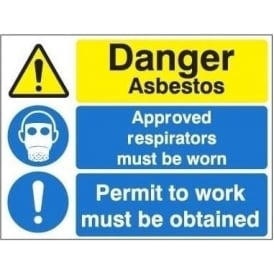 Asbestos Multi-purpose Site Sign