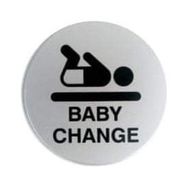 Baby Changing Door Signs