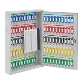Basic Key Storage Cabinets with cam lock for 20-100 keys
