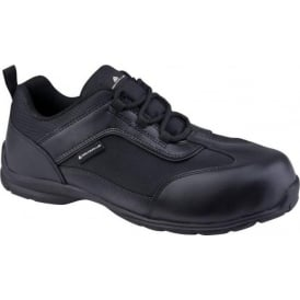 Big Boss Leather/Mesh Safety Shoes S1P SRC