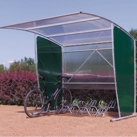 Bike Shelter with optional extension module