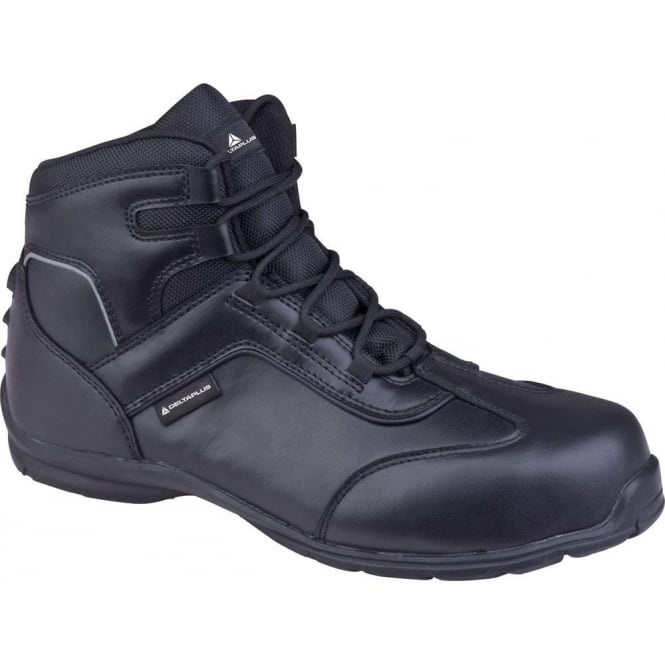 Black Leather Superviser Safety Boots S3 SRC