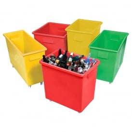 Bottle Skips & Bar Trucks - Food Grade - Red, Green or Yellow