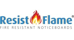 RESIST-A-FLAME Mobile Notice Boards