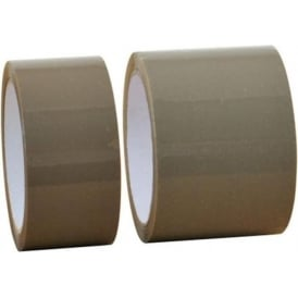 Brown Carton Sealing Tape - Heavy Duty Vinyl