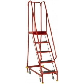 BSI Kitemarked Narrow Aisle Mobile Safety Steps - BS EN131-7