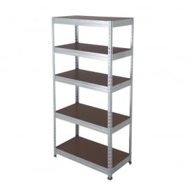 Budget Workplace Galvanised Shelving