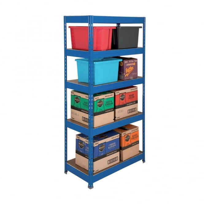 Budget Workplace Shelving - Width: 900mm x Height 1700mm