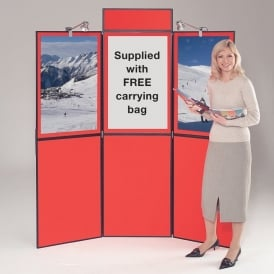 Busyfold Light Duty Folding Exhibition Display System