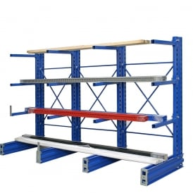 Cantilever Bar and Sheet Racks - Single Sided
