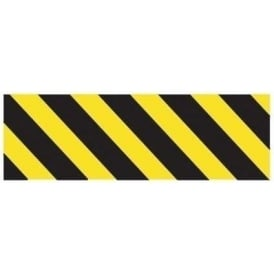 Car Park: Black/Yellow Cheveron Sign
