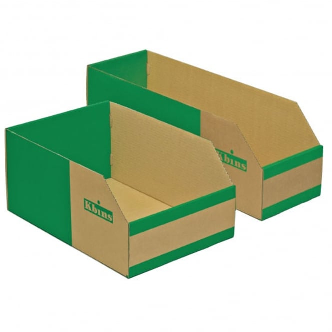 Cardboard Small Parts Picking Containers - Heavy Duty