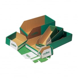 Cardboard Small Parts Picking Containers