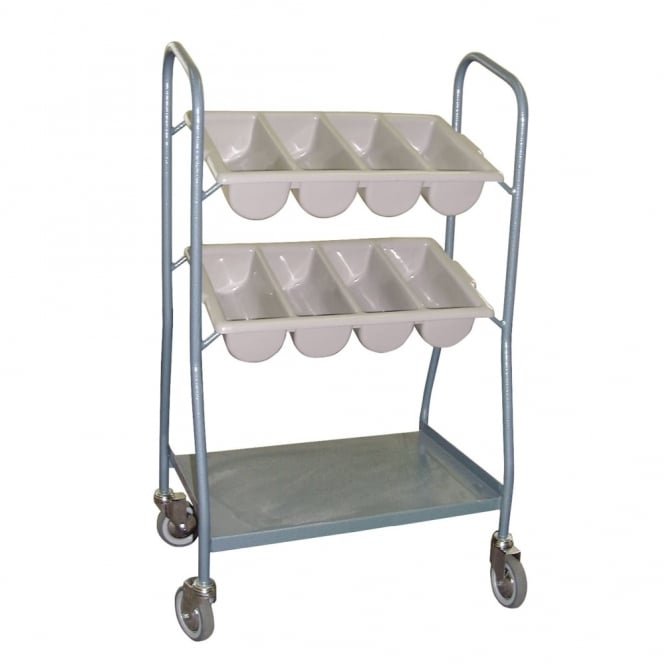 Catering Cutlery Trolley