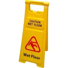 Caution Wet Floor A Frame Sign