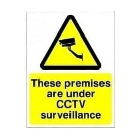 CCTV Sign - Under CCTV Surveillance