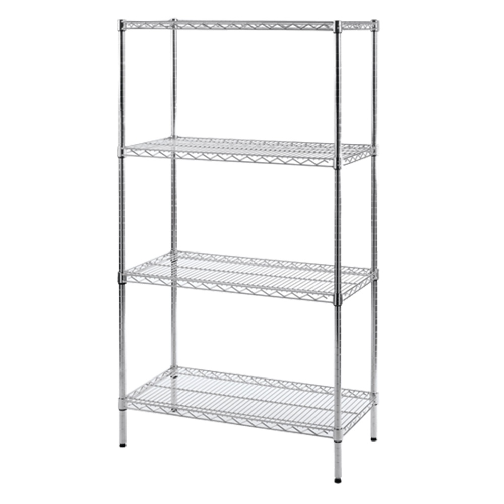 chrome wire shelving anti bacterial - Chrome Wire Shelving