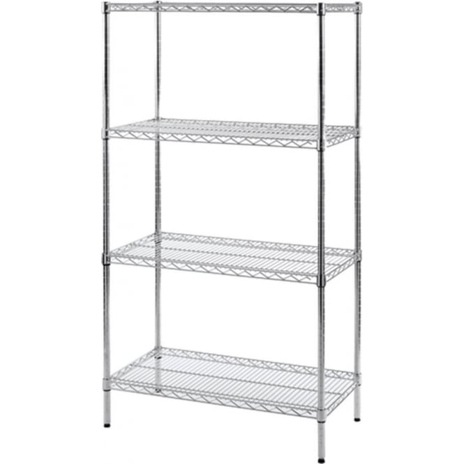 Chrome Wire Shelving - Anti-bacterial