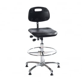 Classic High-rise Draughtsman/Counter Polyurethane Chair