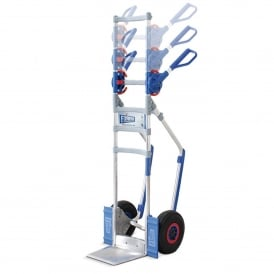 CLICK4 Aluminium Sack Trucks with adjustable handle Cap: 300kg