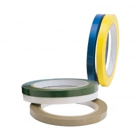 Coloured Bag Neck Sealing Tape 9mm
