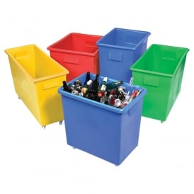 Coloured Bottle Skips & Bar Trucks - Food Grade