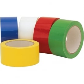 Coloured Carton Sealing Tape - Low Noise