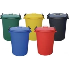 Coloured Dustbins Cap: 85lt & 115lt